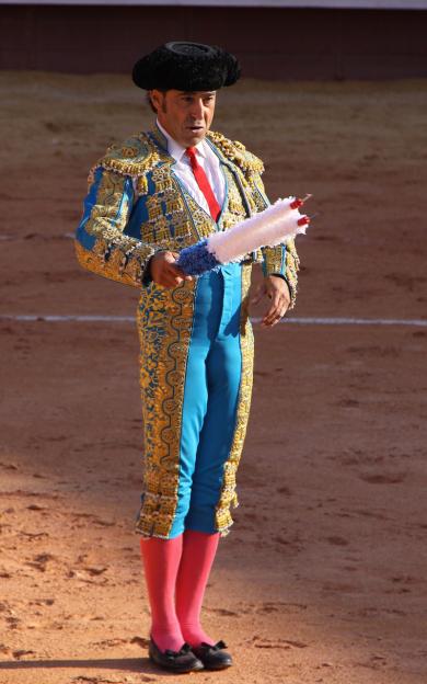 Luis Francisco Esplá es un ejemplo de torería. / Foto: J. J. Diago